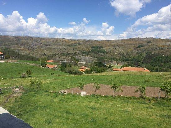 Cabeceiras de Basto, Portugal: Vista das traseiras do restaurante