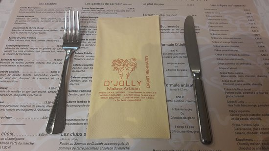 D'jolly: Couverts