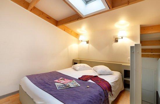 Hotel Resid'Price: Chambre double en mezzannine
