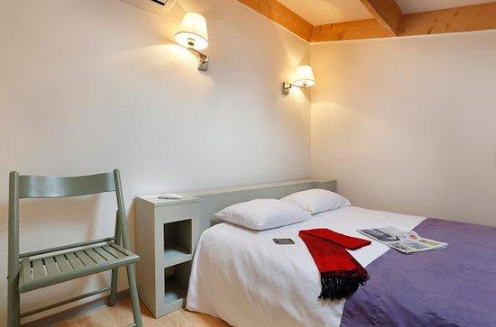 Hotel Resid'Price: Chambre double en mezzanine
