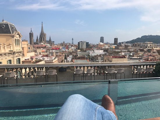 Hotel Ohla Barcelona: Roof Top