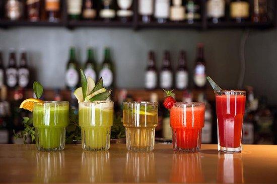 Barbossa: Freshly squeezed juices and lemonades