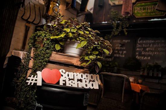 Samogon Fish Bar Podol: Весело!