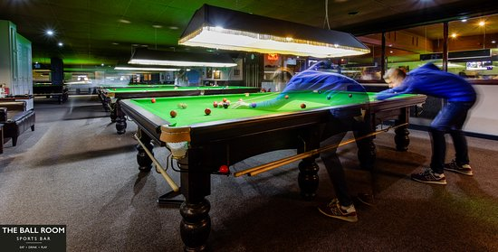 The Ball Room Sports Bar Bellshill Professional Snooker Facilities High quality Full Size Tables