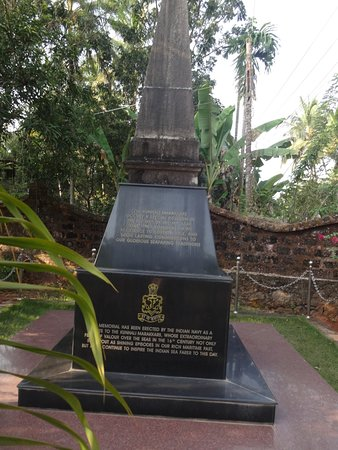 Vadakara, India: Kunjali Marakkar Memorial erected by the Indian Navy at Kottakkal