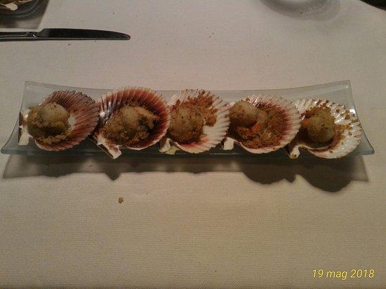 Ristorante Il 25: Canestrelli impanati...