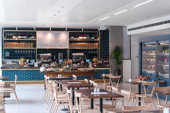 Parkside Cafe & Terrace: Inside Parkside Cafe