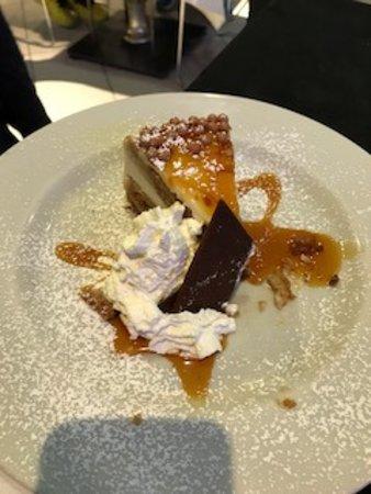 Osio Sotto, إيطاليا: Dolce torta con caramello salato