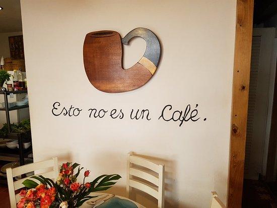 Bilde fra Esto no es un cafe