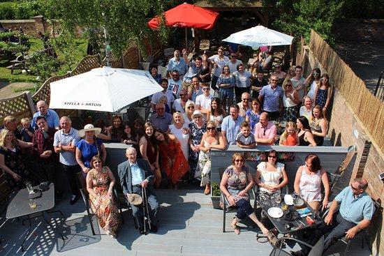 Stamford Bridge, UK: No10's Beer Garden