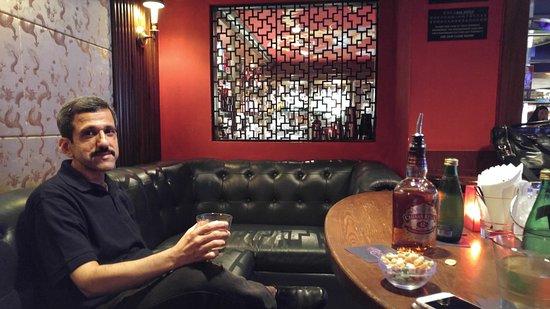 The China Bar, Lan Kwai Fong: VIP Section of Bar