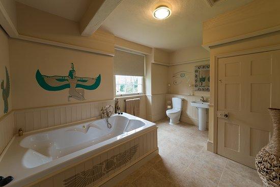 Alwalton, UK: Cleopatra Bathroom