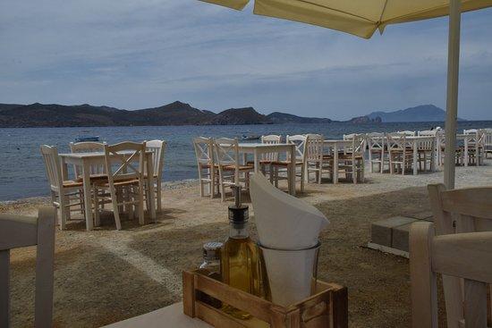 Klima, Grecja: la terrasse