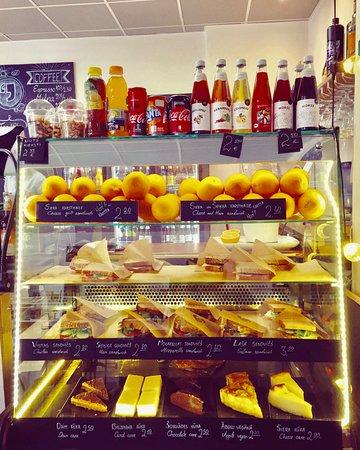 Spiikiizi Café: Enjoy breakfast at our cafe :)