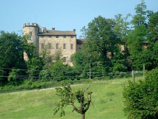 Castelnuovo Val Tidone, Itálie: Esterno del castello