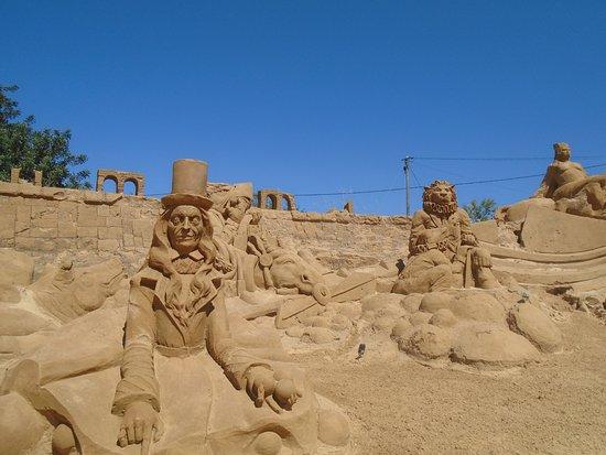 FIESA - International Sand Sculpture Festival: Sand sculptures