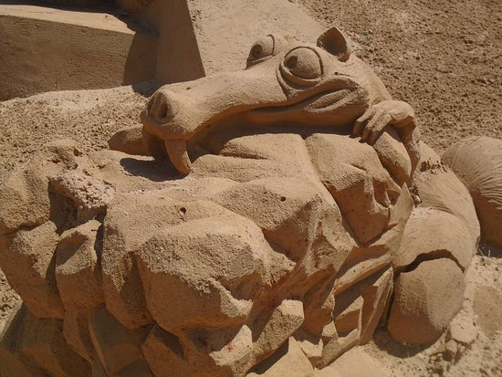 FIESA - International Sand Sculpture Festival: Sand sculpture