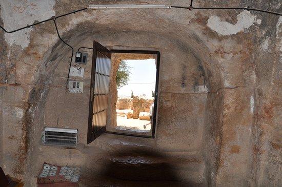 Ahl Al Kahf: Remains outside of Cave