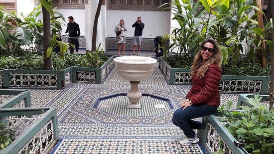 Palais de la Bahia : Jardim central do Palacio Bahia