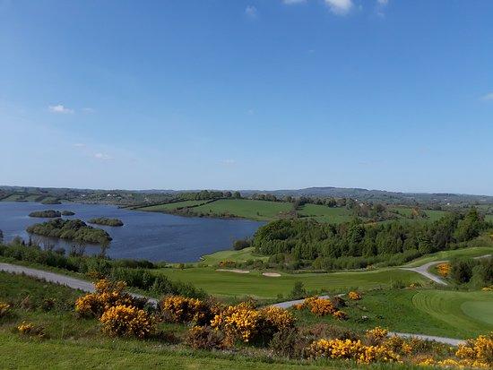 Castleblayney, Irlanda: View from the restaurant
