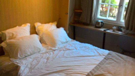 Reichstett, فرنسا: Chambre N°3 Hôtel Aigle d'Or à Reichstett