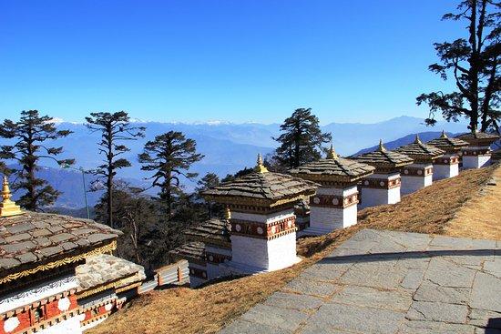 Paro District, Μπουτάν: Dochula Pass