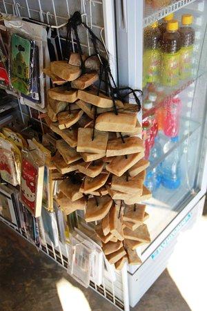 Paro District, Μπουτάν: Cheese in the market