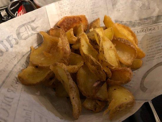 Dondolo: patate fritte classiche (con buccia)