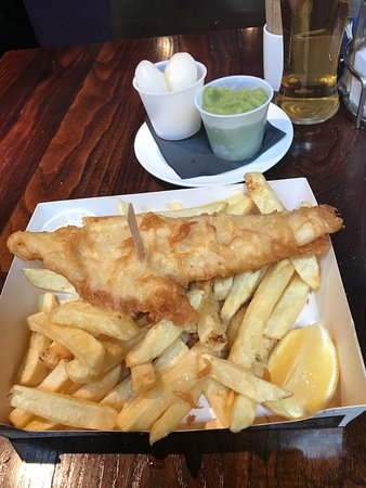 The Chippy Doon The Lane: Small Haddock