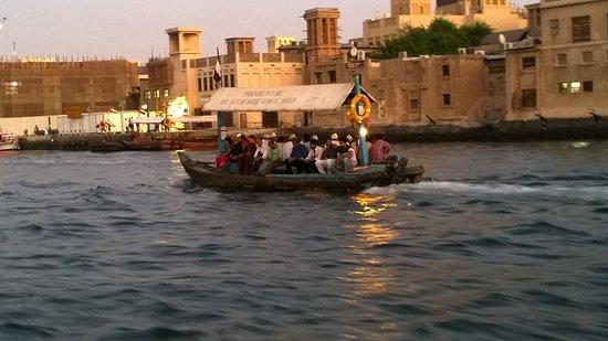 Bur Dubai Abra Dock: takto vypadá abra