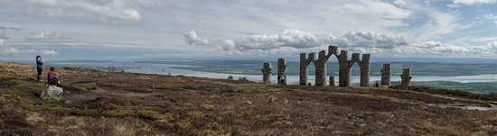 Evanton, UK: Fyrish monument