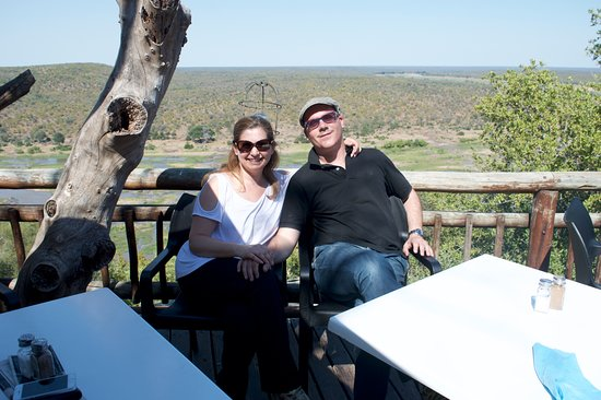 Olifants Rest Camp: terrazza panoramica.