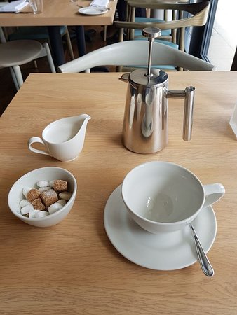 Wivenhoe, UK: Very nice coffee