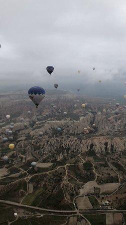 Butterfly Balloons in Cappadocia