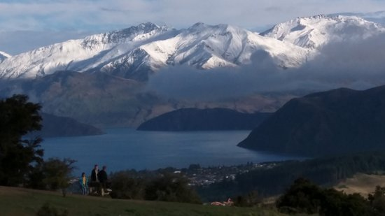 Lake Wanaka: View from above