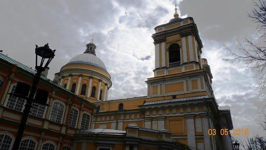 Holy Trinity Alexander Nevskiy Lavra: Свято-Троицкая Александро-Невская Лавра, 3 мая 2018 года...