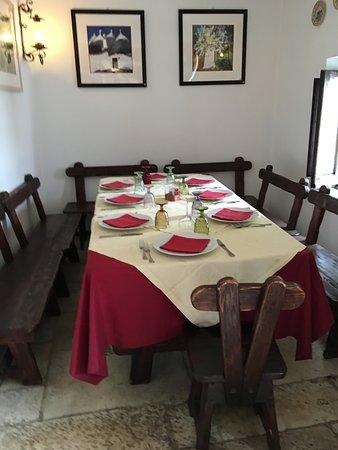 L'Aratro: TABLE