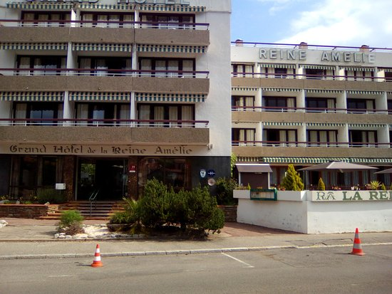 Grand Hotel de la Reine Amelie: Vue de l'hôtel