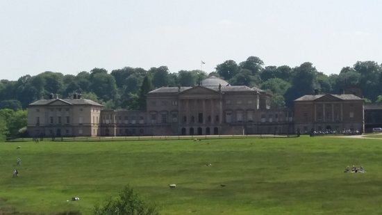Kedleston, UK: the house