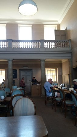 Kedleston, UK: the cafe