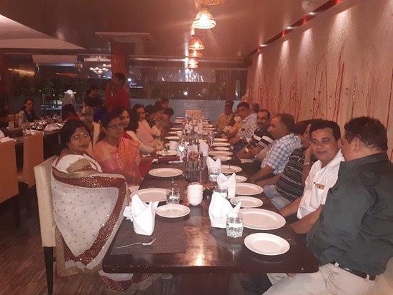 The Marigold- Fine Dine Restaurant: group photo