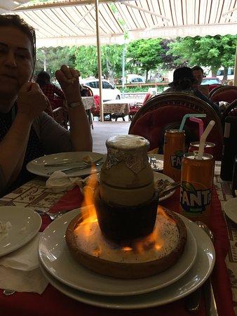 Old Cappadocia Cafe & Restaurant: Manti (Turkish raviolis)