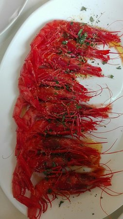 Delicious fresh seafood
