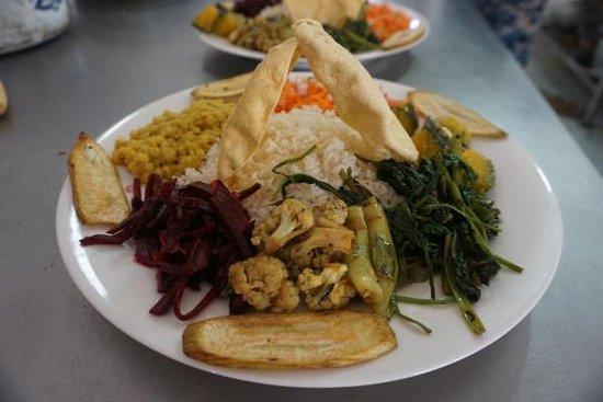 Valampuri Kite Resort: vegan food