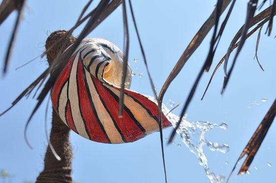 Valampuri Kite Resort: shower