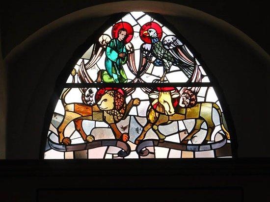 Weikersheim, Tyskland: stained glass