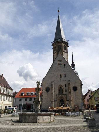 Weikersheim, Tyskland: The church