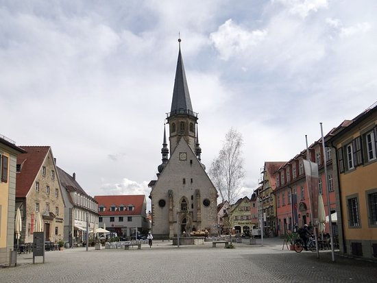 Weikersheim, Alemanha: the town square