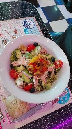 Memphis Coffee Thionville: Salade