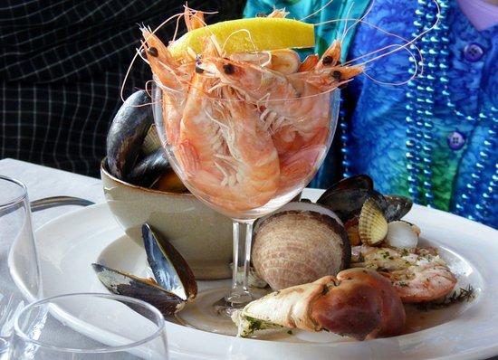 Verteillac, France: Fruit de Mer
